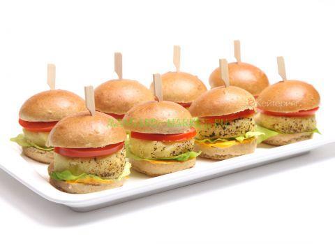 Мини чизбургеры